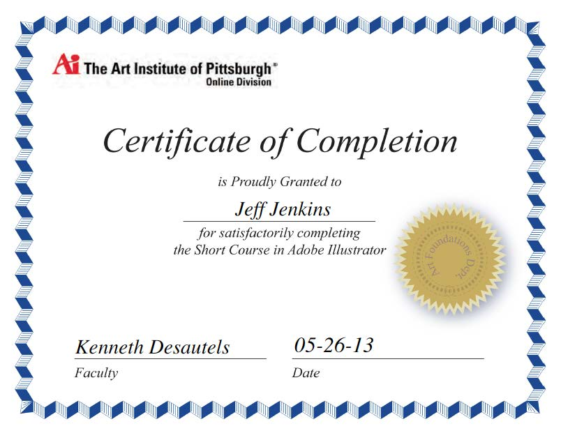 Certificates And Awards Won By Jeff Jenkins
